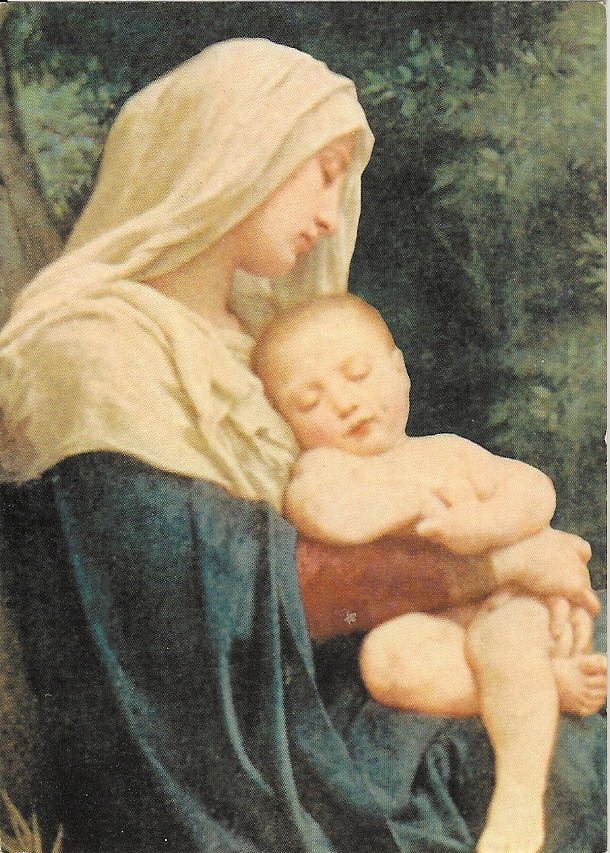 Mary Prayer Card