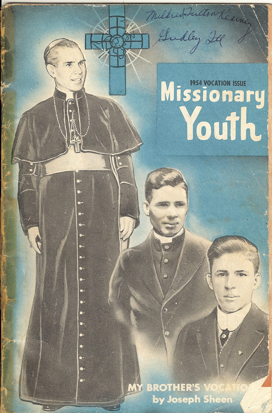 "1954 Vocation Issue of ""Missionary Youth"""