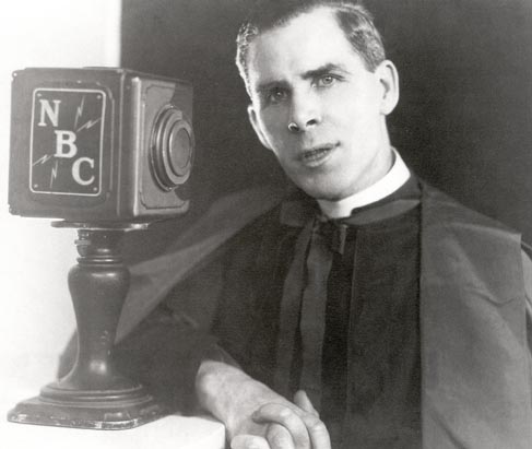 Bishop Sheen on radio
