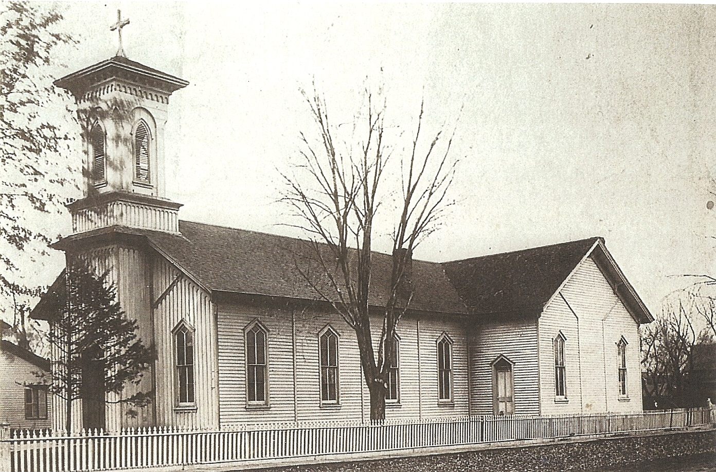 St. Mary's Original Church - Birth and Baptismal