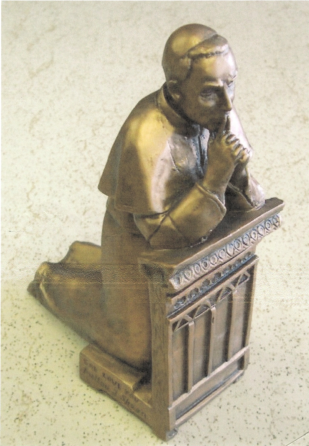 Statue of Bishop Sheen