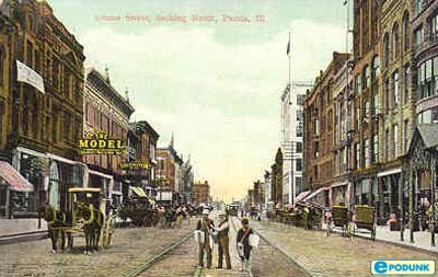 Peoria around 1910-1920